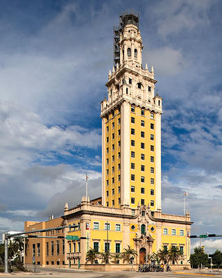 The Freedom Tower in Miami