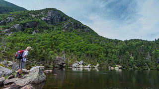 Carter Notch in New Hampshire's White Mountain National Forest