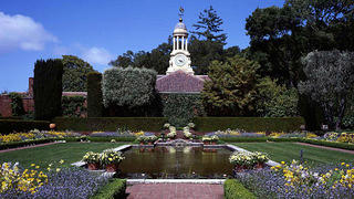 View of the gardens at Filoli