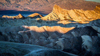 Zabriske Point in Death Valley, California