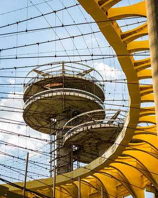 New York State Pavilion Reapinted from Bottom