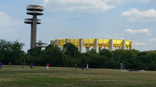 New York State Pavilion Reapinted from Distance