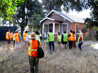 Wintersburg Preservation Task Force leads site tour
