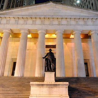 Federal Hall National Memorial, the site of government activity for almost 300 years.