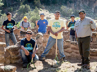 HOPE Crew at Bandalier National Monument