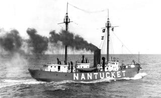 Historical photo of the Nantucket Lightship/LV-112