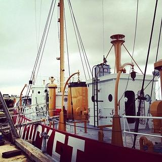 Aboard the Nantucket Lightship/LV-112