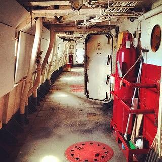 Interior of the Nantucket Lightship/LV-112