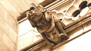 Ugliest monster gargoyle