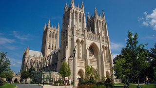 Exterior of Washington National Cathedral