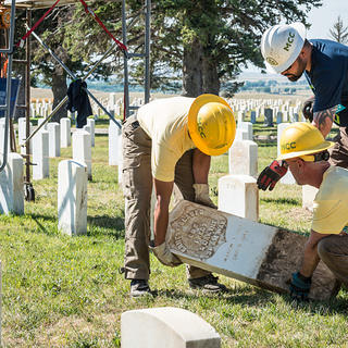 Hope Crew at Custer National Cemetery