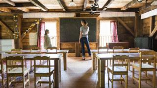 Freedom Mill Woman in Classroom