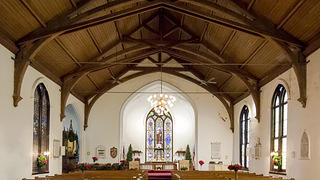 Inside Trinity Episcopal Church