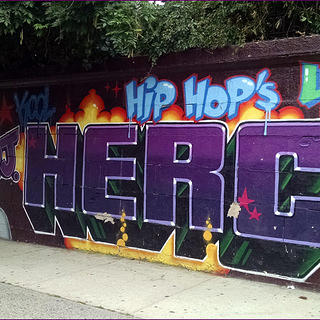 Herc Hip Hop Mural in Bronx, New York