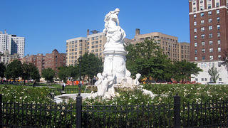 Lorelai Fountain in Joyce Kilmer Park, Bronx, New York