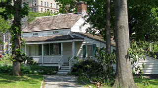 Edgar Allen Poe Cottage in Bronx, New York