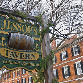 The exterior of Jessop's Tavern
