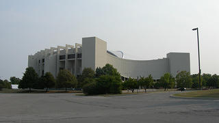 The exterior of Assembly Hall