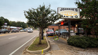 Johnnie's Drive In in Tupelo, Mississippi