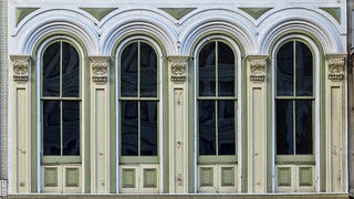 Historic windows in New Orleans