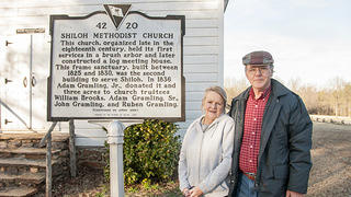 Shiloh Methodist Church: Clarence and Kay, caretakers
