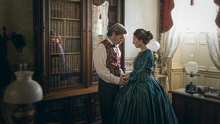 "James Green Sr. (Gary Cole) and Jane Green (Donna Murphy) in ""Mercy Street"""