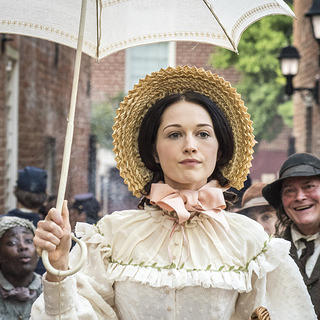 "Hannah James as Emma Green in ""Mercy Street"""