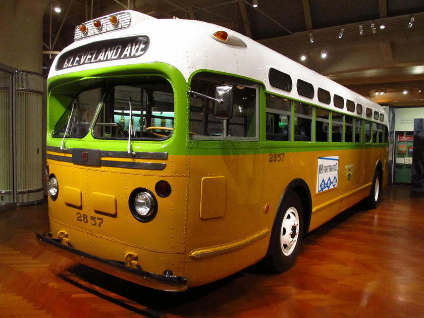 The Rosa Parks Bus National Trust For Historic Preservation