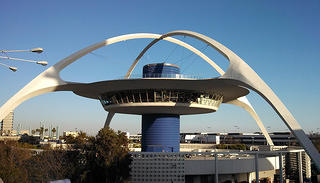 Theme Building at LAX by Paul R. Williams