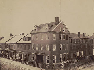 Historic image of the Marshall House in Alexandria