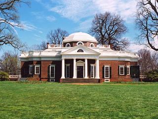West front of Monticello