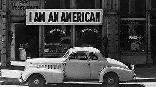 A store owned by a Japanese-American closed after the Japanese attack on Pearl Harbor.