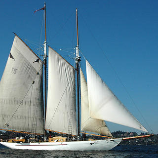 Popular Vote winner Schooner Adventuress