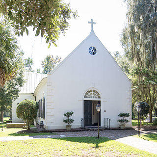 A daytime shot of St. Andrew's Old Episcopal Church.