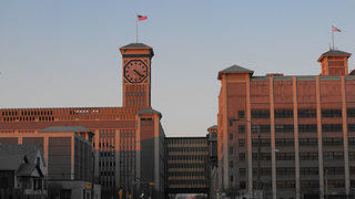The Allen-Bradley Building Clock Tower in Milwaukee, the world's largest.