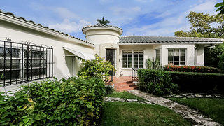 Palm View Historic District Mediterranean Art Deco Michigan Ave. Miami Beach Home
