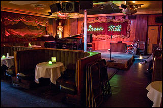 Al Capone's supposed favorite booth at the Green Mill.
