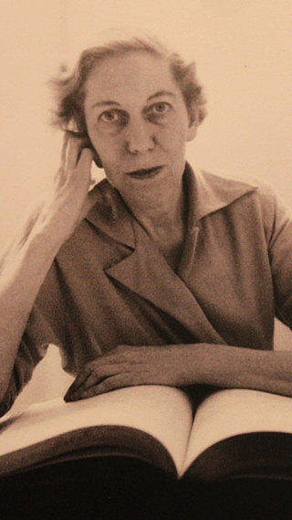 A portrait of Eudora Welty.