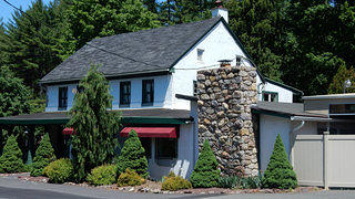An external shot of the Schultheis Carriage House.