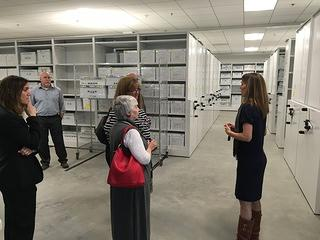 Behind-the-Scenes Tours for Steering Committee and Community Members