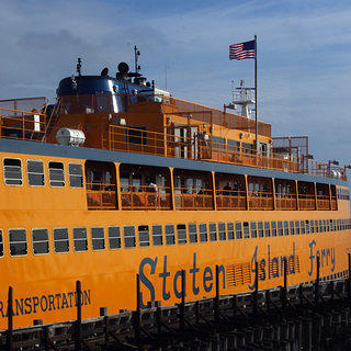 A shot of the Staten Island Ferry.
