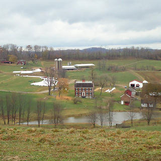 Overview of the Isaac Manchester Farm