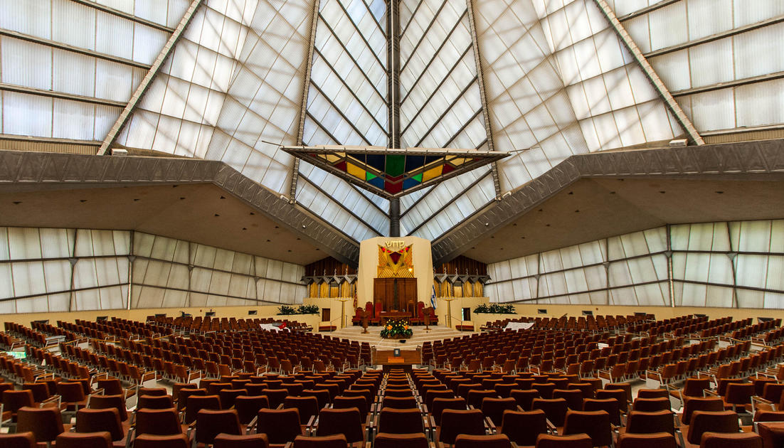 Beth Sholom Synagogue Frank Lloyd Wright S Only Synagogue National Trust For Historic