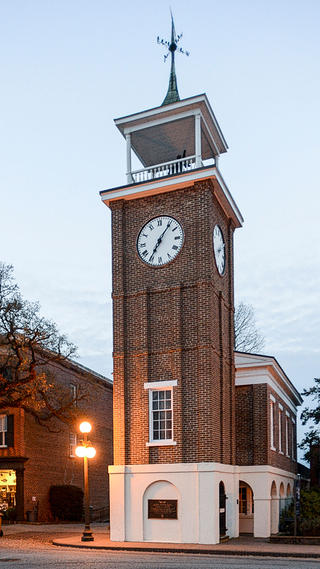A picture of the Georgetown Old Market building.