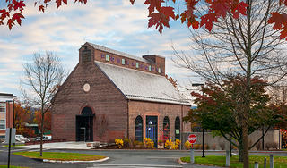Exterior of the Amherst College Powerhouse