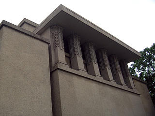 Exterior angle of Unity Temple.