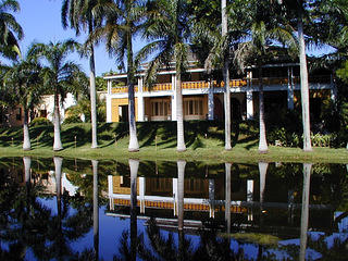 View of the Bonnet House Museum & Gardens