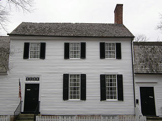 Exterior of Mary Washington House