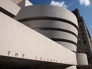 Guggenheim Museum in New York. Sourced from Flickr.