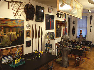 Roger Brown Collection interior